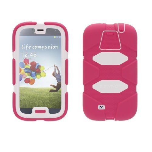 Griffin Survivor All-Terrain Étui Hardcase Galaxy S4 rosé/blanc