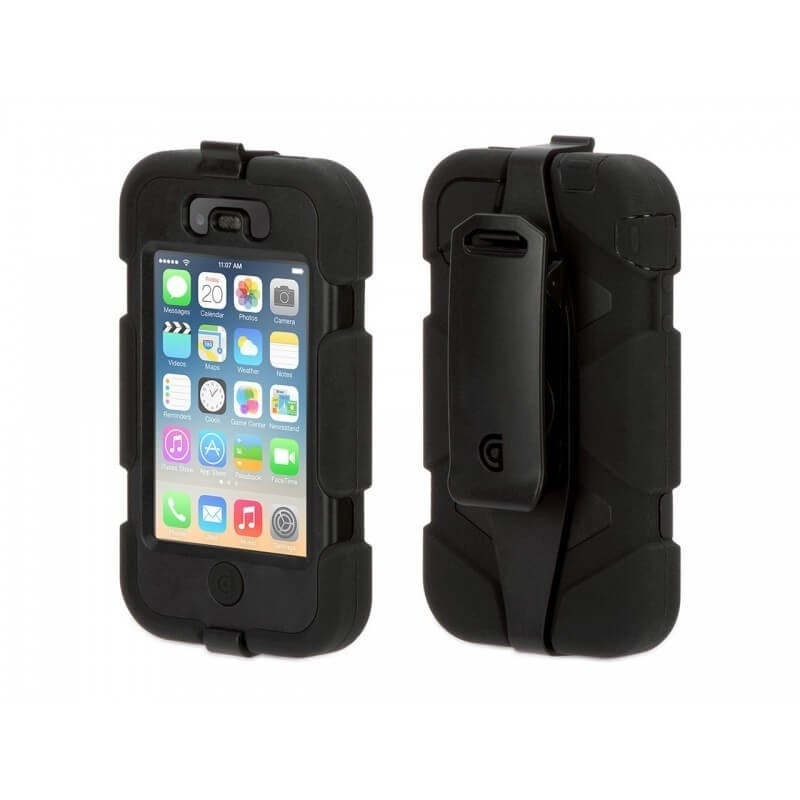 Griffin Coque Survivor All-Terrain Hardcase iPhone 4(S) noir