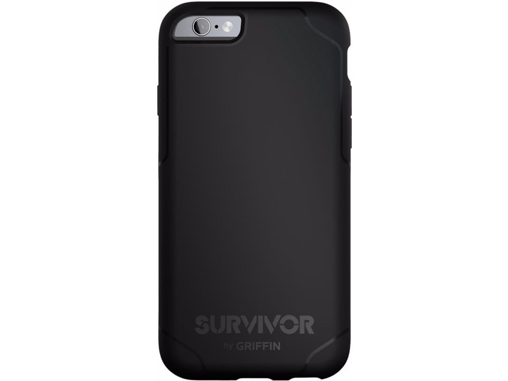 Griffin Survivor Journey étui iPhone 6(S)/7 Plus noir
