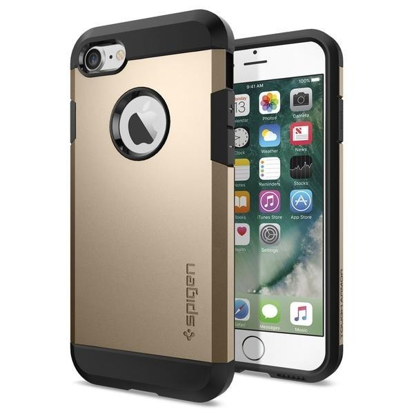 Spigen Slim Armor Coque iPhone 7 / 8 / SE 2020 or