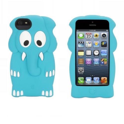 Griffin Kazoo iPhone 5(S) Elephant Bleu
