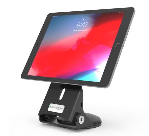 Maclocks Support verouillage pour Tablette avec Poignée - noire