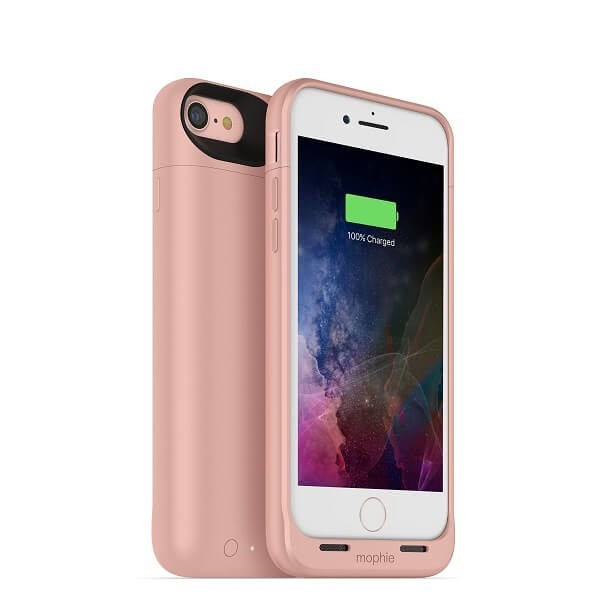 Mophie Coque Batterie Juice Pack Air iPhone 7 / 8 / SE 2020 or rose