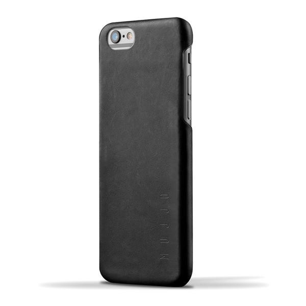 Mujjo Leather Case iPhone 6(S) Plus zwart