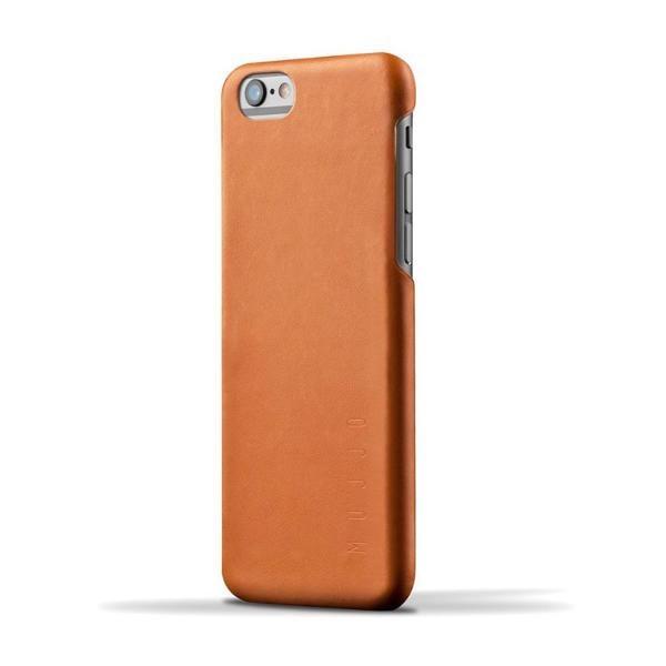 Mujjo Leather Case 80 iPhone 6(S) Plus bruin