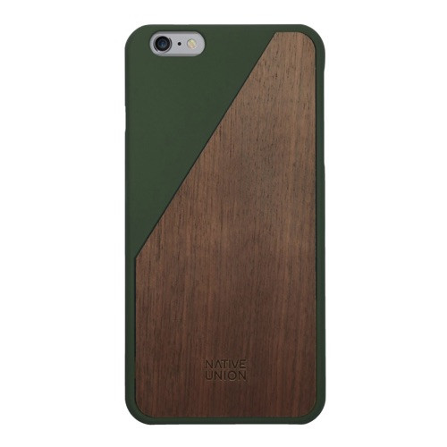 Native Union Clic Wooden iPhone 6 Plus / 6S Plus Olive