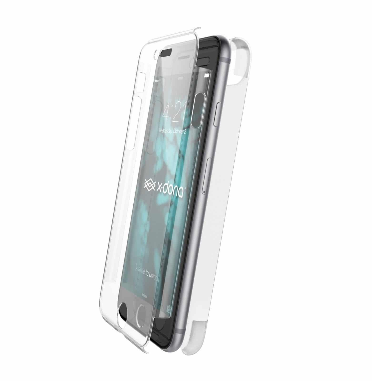 coque cristal 360 iphone 8