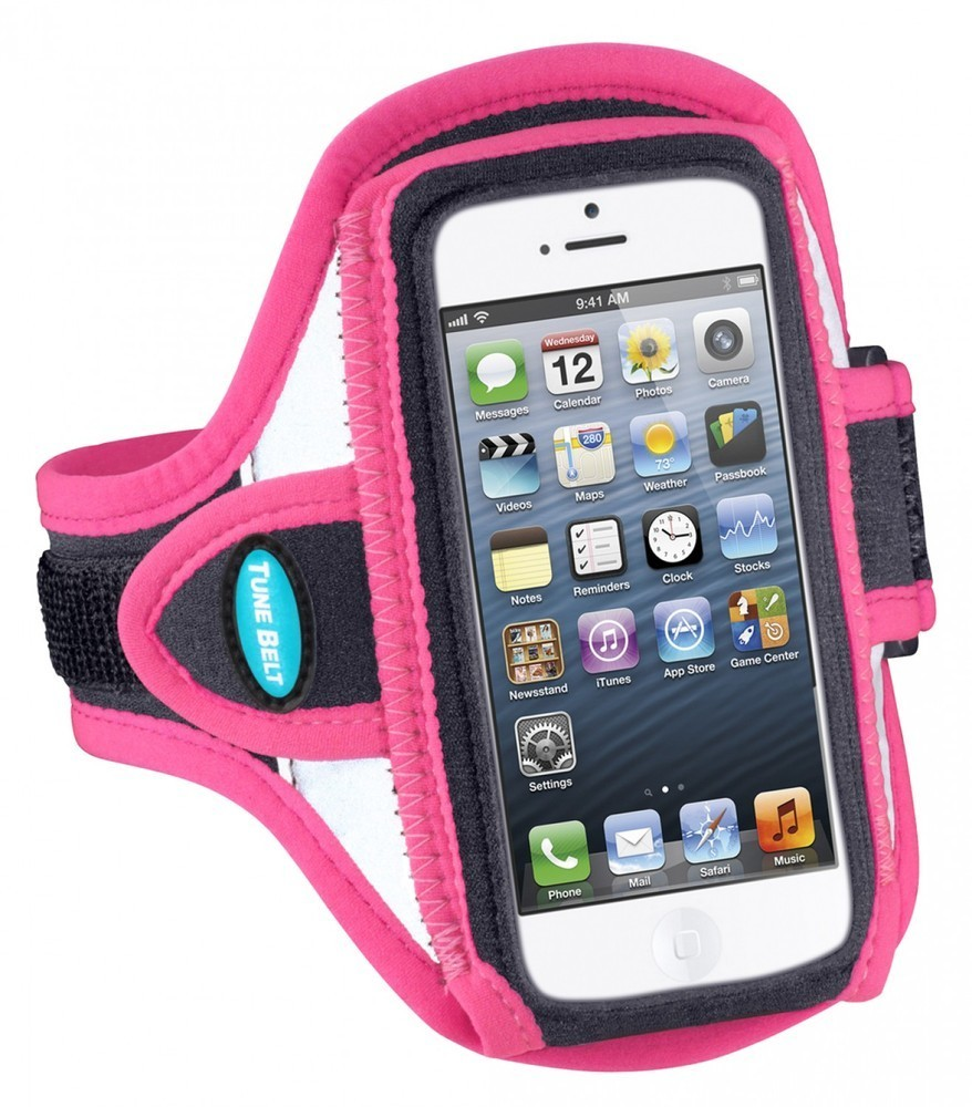Tune Belt - Brassard Running iPhone 5 / 5S / 5C / SE - Rose