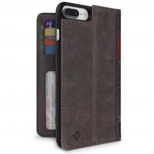 Twelve South BookBook étui iPhone 7 / 8 Plus marron