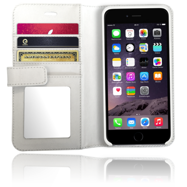 XtremeMac X-Wallet Leather Case iPhone 6(S) Wit
