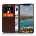 Casecentive Étui Portefeuille iPhone 11 Pro Max Marron
