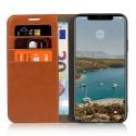 Casecentive Étui Portefeuille iPhone 11 Pro Max Brune