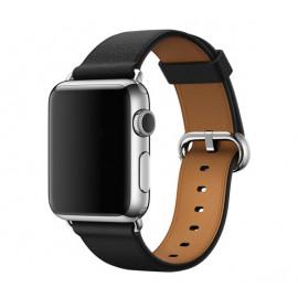 Apple - Bracelet Apple Watch 38mm / 40mm - Boucle Classique - Noir