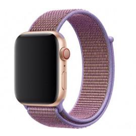 Apple - Bracelet Apple Watch 42mm / 44mm - Boucle Sport respirante - Mauve / Lilac