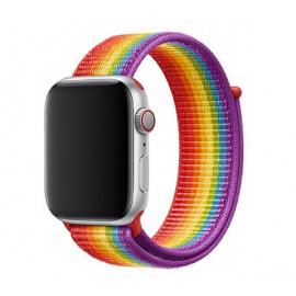 Apple - Bracelet Apple Watch 42mm / 44mm - Boucle sport respirante - Pride Edition