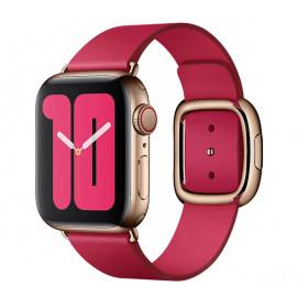 Apple - Bracelet Apple Watch 38mm / 40mm Boucle moderne - Small - Raspberry