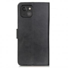 Casecentive - Étui portefeuille iPhone 13 Mini magnétique - Noir