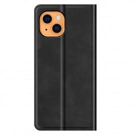 Casecentive - Étui portefeuille iPhone 13 magnétique - Noir