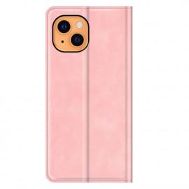 Casecentive - Étui portefeuille iPhone 13 magnétique - Rose