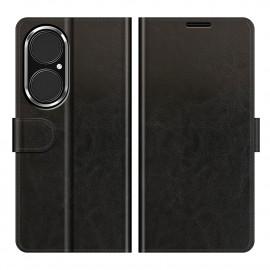 Casecentive Magnetische Leren Wallet case Huawei P50 zwart
