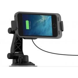 Mophie Dock Chargement Juice pack - Voiture - iPhone 5(S) / SE Noir