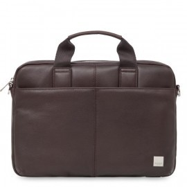 "Knomo StanFord sacoche d'ordinateur portable cuir 13"" Marron"