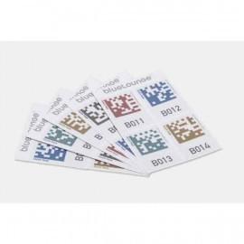 Bluelounge Quick Peek étiquettes de rangement- 100 autocollants