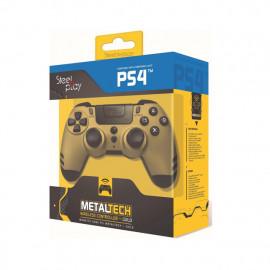 Steelplay MetalTech - Manette PS4 sans fil - Dorée
