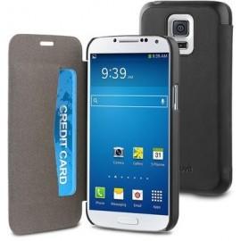 Muvit Easy Folio Book - Coque Samsung Galaxy S5 Mini - Noire