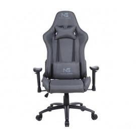 Nordic Gaming Racer Fabric - Chaise Gamer en tissu - Gris Foncé