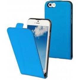 Muvit Slim - Étui iPhone 6 / 6S de protection à rabat - Bleu