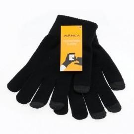 Avanca Gants tactiles Noir