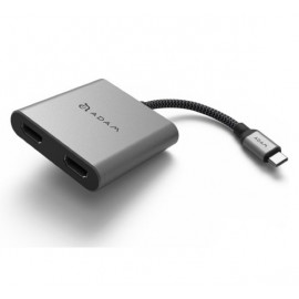 ADAM elements CASA Hub H2 Adaptateur USB-C 3.1 HDMI Gris