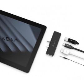 ADAM elements CASA Hub S4 Adaptateur USB-C 3.1 4 port Surface Go - Noir