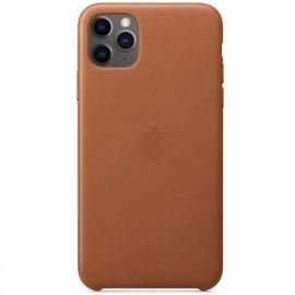 Apple - Coques iPhone 11 Pro Max en cuir - Marron