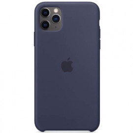 Apple - Coques iPhone 11 Pro Max en silicone - Bleu Nuit