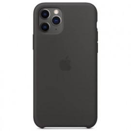Apple - Coques iPhone 11 Pro en silicone - Noire