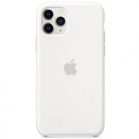Apple - Coques iPhone 11 Pro en silicone - Blanc