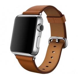 Apple - Bracelet Apple Watch 38mm / 40mm - Boucle Classique - Saddle Brown