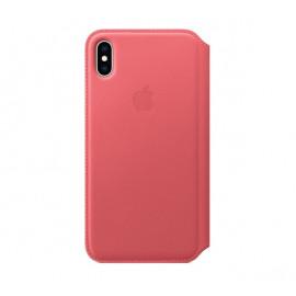 Apple - Étui iPhone XS Max en cuir - Rose