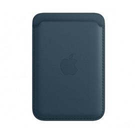 Apple MagSafe - Portefeuille Apple en cuir pour iPhone - Baltic Blue