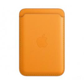 Apple MagSafe - Portefeuille Apple en cuir pour iPhone - California Poppy