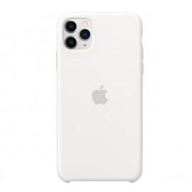 Apple - Coque iPhone 11 Pro Max en silicone - Blanc