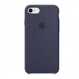 Apple - Coque iPhone 7 / 8 en silicone - Bleu Nuit