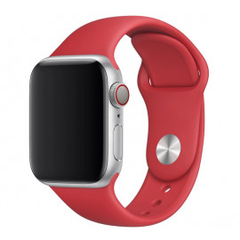 Apple - Bracelet Apple Watch 38mm / 40mm - Bracelet Sport - Rouge