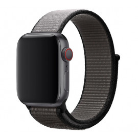 Apple - Bracelet Apple Watch 42mm / 44mm - Boucle Sport respirante - Large - Anchor Gray / Grey