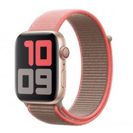 Apple - Bracelet Apple Watch 42mm / 44mm - Boucle Sport respirante - Neon Pink