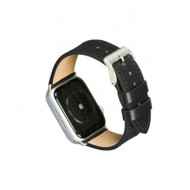 dbramante1928 Copenhagen - Bracelet Apple Watch 44mm - Noir/argent