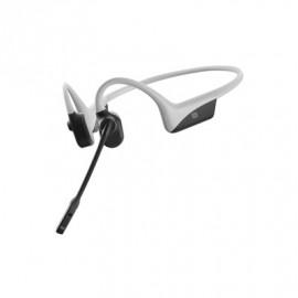 Aftershokz OpenComm headset licht grijs
