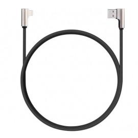 Aukey - Câble USB-A vers USB-C 1.2m - 90° - Noire